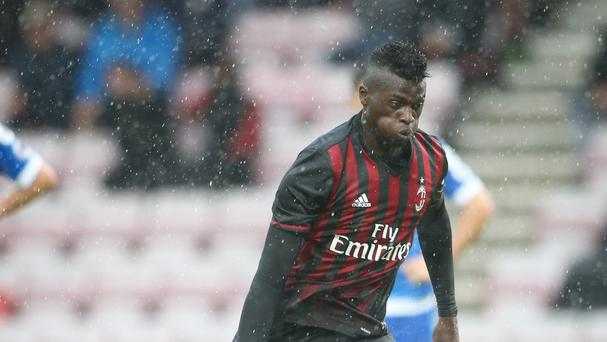 AC Milan forward Mbaye Niang has joined Premier League side Watford on loan for the rest of the season