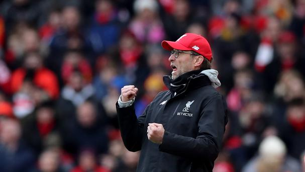Liverpool manager Jurgen Klopp still believes in his squad