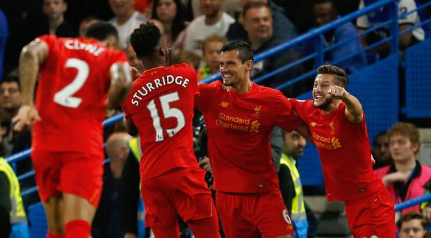 Liverpool beat Chelsea when the two teams met in the Premier League earlier this season
