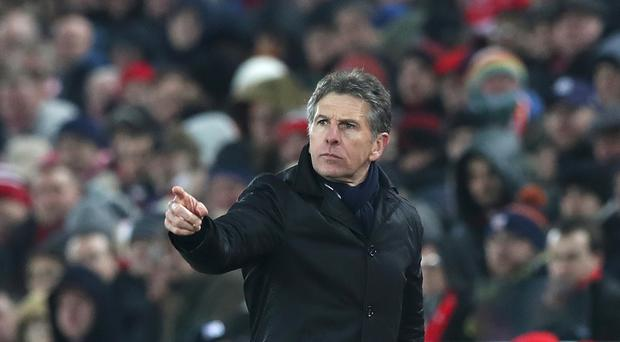 Claude Puel made 10 changes as Southampton lost to Arsenal in the FA Cup on Saturday.