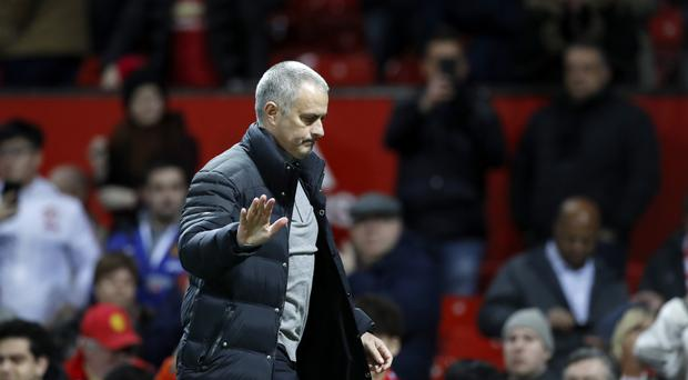 Jose Mourinho was frustrated after Manchester United were held by Hull