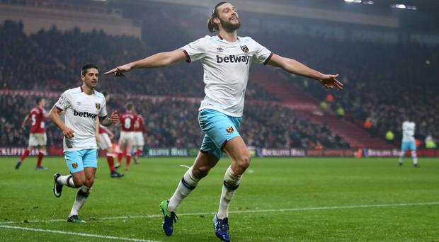 Andy Carroll has scored five goals since returning from injury