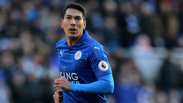Leonardo Ulloa handed in a transfer request to Leicester last month