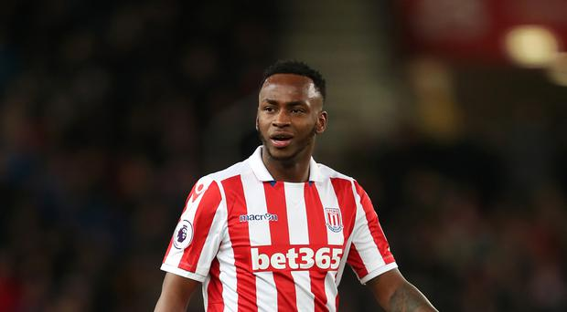 Saido Berahino joined Stoke from West Brom last month.