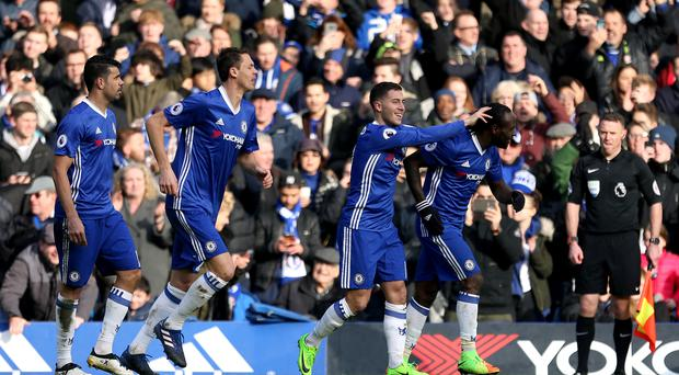 Chelsea enjoyed a big win over title rivals Arsenal
