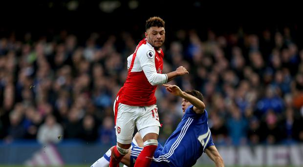 Arsenal's Alex Oxlade-Chamberlain admits their title challenge is in trouble