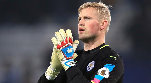 Kasper Schmeichel fears Leicester could go down