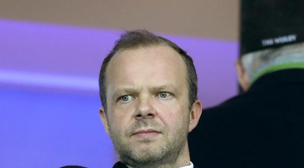Manchester United's executive vice-chairman Ed Woodward says the club are on course for record revenues in the year ending June 30, 2017