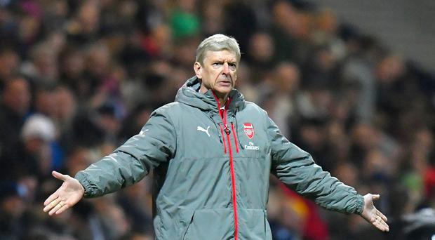 Arsene Wenger has seen his Arsenal side lose their last two Premier League outings