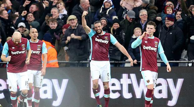 Andy Carroll netted his spectacular strike against Crystal Palace