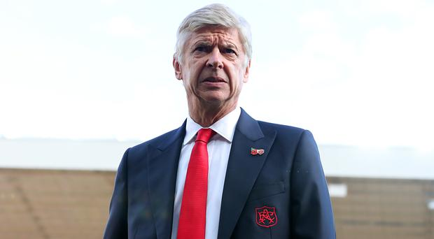 Arsene Wenger is receiving criticism from sections of the Arsenal support