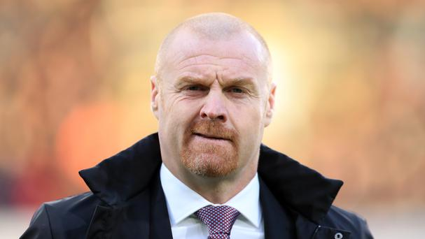 Sean Dyche insists his side are capable of bringing down Chelsea on Sunday.