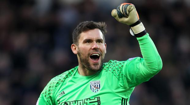 West Brom goalkeeper Ben Foster has targeted 50 Premier League points for his team
