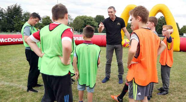 Former Arsenal defender Martin Keown was speaking at the launch of the 2017 FA & McDonald's Community Awards