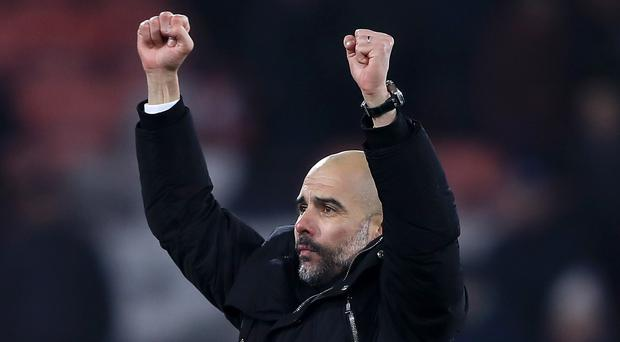 Manchester City manager Pep Guardiola's team impressed in their 2-0 win at Bournemouth