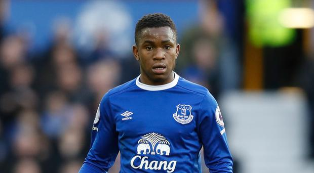 Ademola Lookman's performances for Everton are an example to the club's youngsters, according to manager Ronald Koeman.