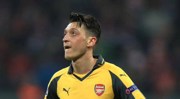 Arsenal's Mesut Ozil again went missing in Munich