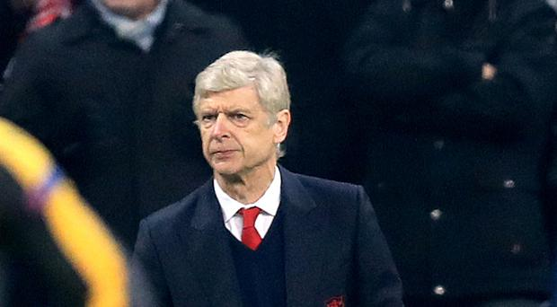 Arsene Wenger saw his Arsenal side lose 5-1 at Bayern Munich last week