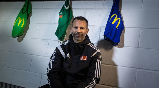 Ryan Giggs, pictured, has been impressed by Zlatan Ibrahimovic