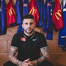 Tottenham defender Kyle Walker is helping launch the 2017 McDonald's Community Awards.