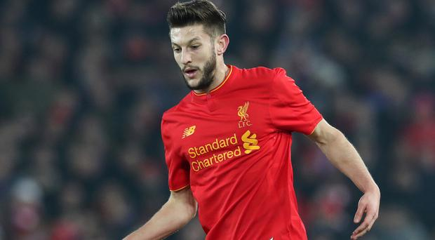 Liverpool midfielder Adam Lallana is set to sign a new three-year deal at the club