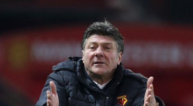 Watford manager Walter Mazzarri opted against taking his players away for some warm weather training ahead of their next Premier League match with West Ham