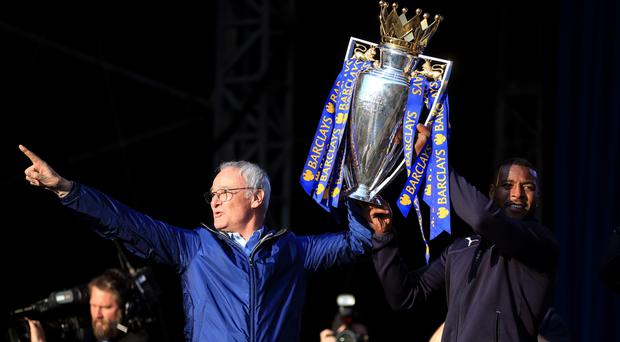 Claudio Ranieri won the title with Leicester last season