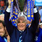 Claudio Ranieri won the title with Leicester by 10 points last season