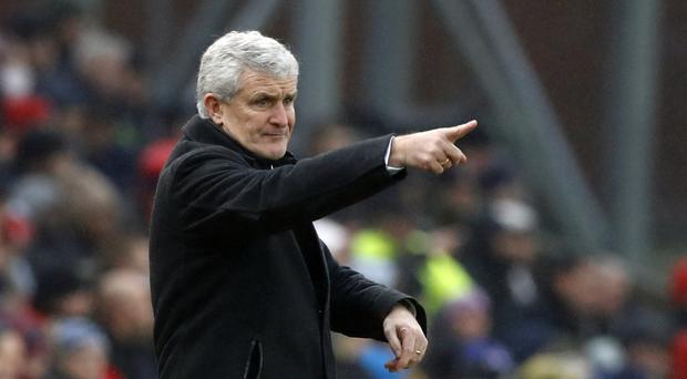 Mark Hughes' Stoke have lost each of their last two meetings with Tottenham 4-0.