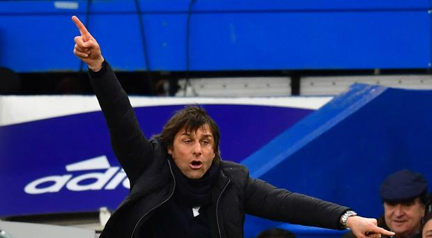 Chelsea manager Antonio Conte was pleased with his side's second-half showing