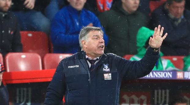 Sam Allardyce thinks Crystal Palace have benefited from a rest