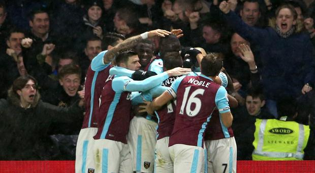 West Ham rescued a point at Watford after Andre Ayew's equaliser