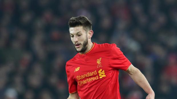 Liverpool midfielder Adam Lallana, pictured, is one of manager Jurgen Klopp's leaders in the dressing room