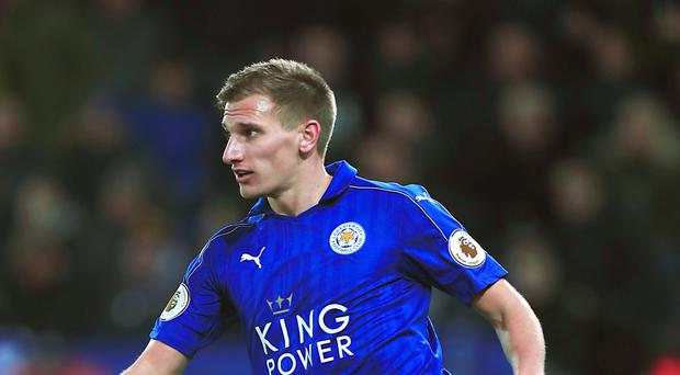 Marc Albrighton, pictured, has denied any involvement in Claudio Ranier's departure from Leicester