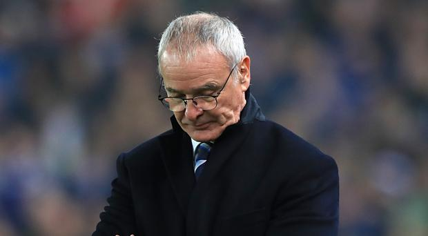 Leicester will play their first game since Claudio Ranieri was sacked