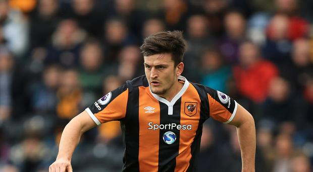 Harry Maguire could be included in the senior England squad later this month