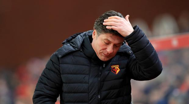 Walter Mazzarri's Watford were held to a 1-1 draw by West Ham on Saturday