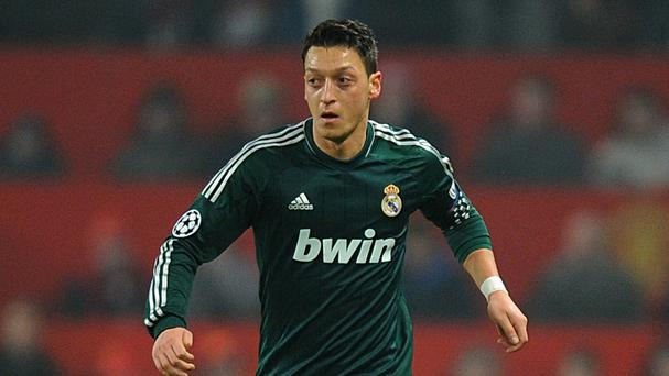 Mesut Ozil had a three-year spell at Real Madrid