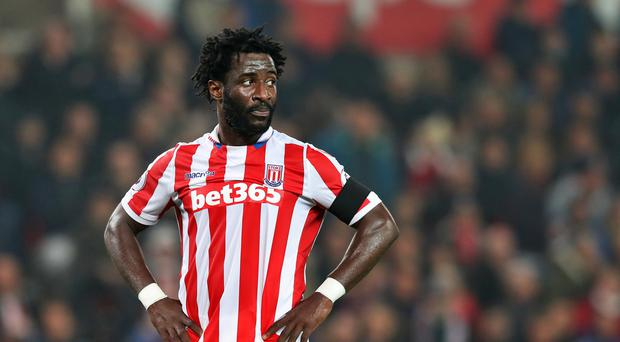 Wilfried Bony has struggled to make much of an impact for Stoke.