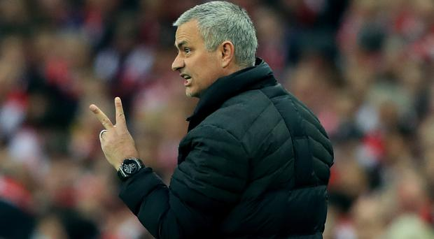 Manchester United manager Jose Mourinho had two players on his mind on Friday