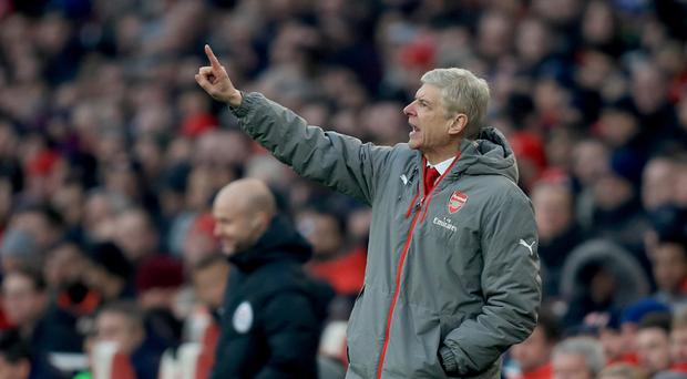 Arsene Wenger's Arsenal have a poor recent record against their main Premier League rivals.