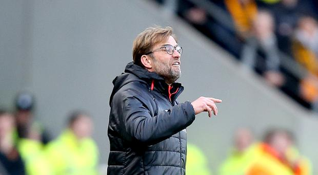 Liverpool manager Jurgen Klopp has demanded an improvement from his under-performing players.