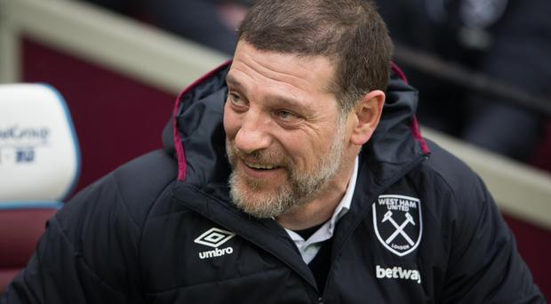 Slaven Bilic will try to slow down Chelsea's title charge on Monday night