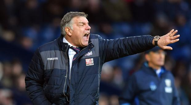 Sam Allardyce's Crystal Palace are on the up