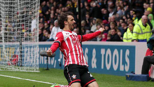 Southampton's Manolo Gabbiadini won praise from his manager