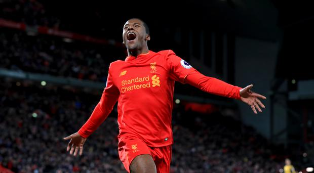 Liverpool midfielder Georginio Wijnaldum insists pressure is not a problem for the players.