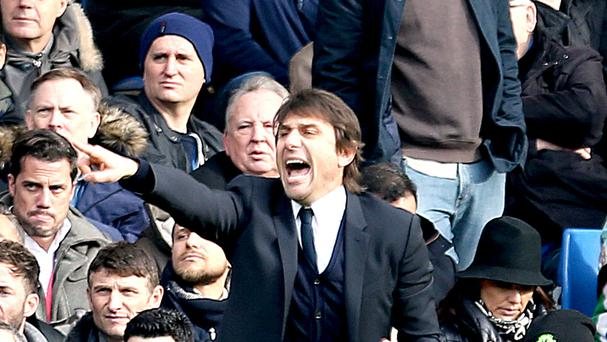 Chelsea head coach Antonio Conte has told his players to be remembered for winning the Premier League title