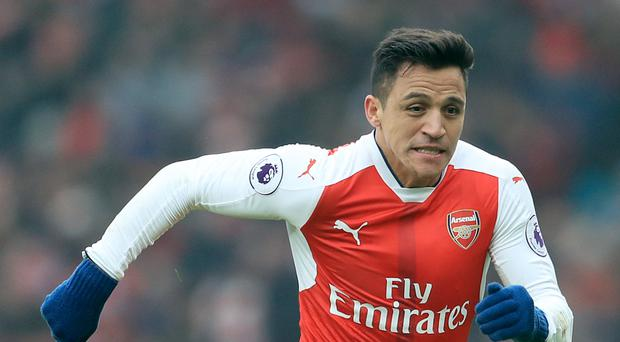 Alexis Sanchez is reported to have had a bust-up with his Arsenal team-mates