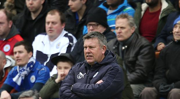 Leicester caretaker manager Craig Shakespeare replaced the sacked Claudio Ranieri last month.