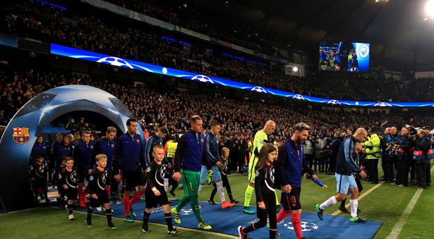 Manchester City's home Premier League match against Stoke has been scheduled for the same night as European action, which could result in a fine for the Football Association